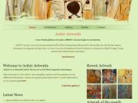 Ardziv Artworks Website - Snapshot 05