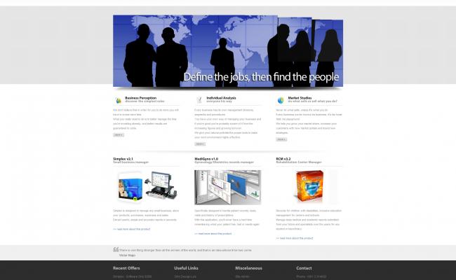 SoftConcept 2009 Website_01