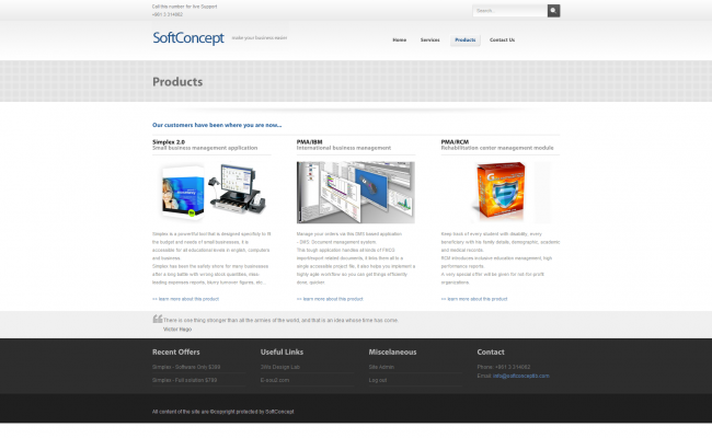 SoftConcept 2009 Website_04