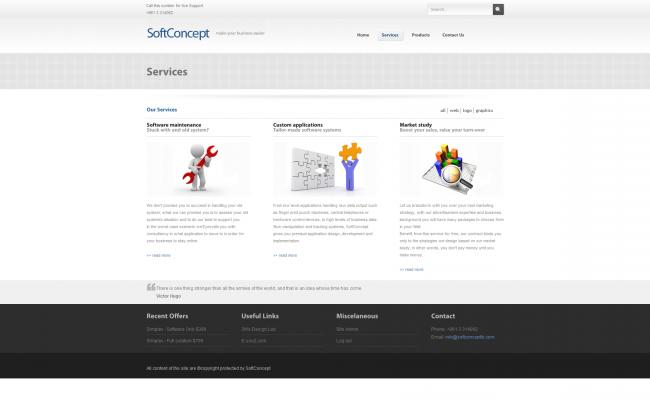 SoftConcept 2009 Website_05