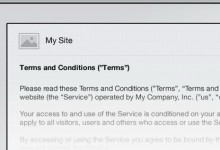 termsfeed.com – Terms & Conditions Generator Tool