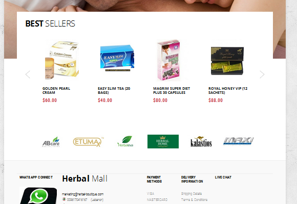 Herbal Mall Website_01